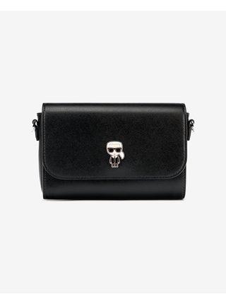 Ikonik Metal Pin Cross body bag Karl Lagerfeld