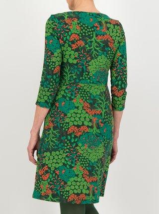 Šaty do práce pre ženy Blutsgeschwister - zelená