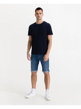 Tričká s krátkym rukávom pre ženy Tom Tailor - modrá