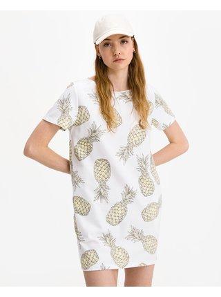 Voľnočasové šaty pre ženy JUVIA - biela