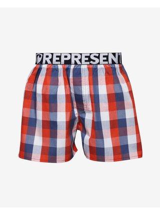 Trenírky pre mužov Represent - modrá, červená, biela