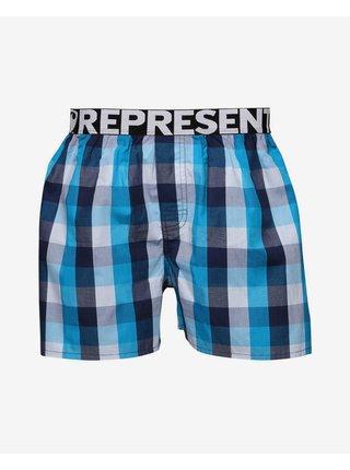 Trenírky pre mužov Represent - čierna, modrá, biela