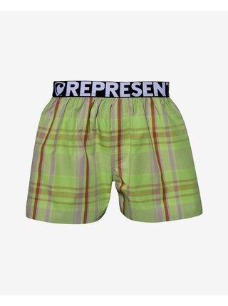 Trenírky pre mužov Represent - zelená, červená