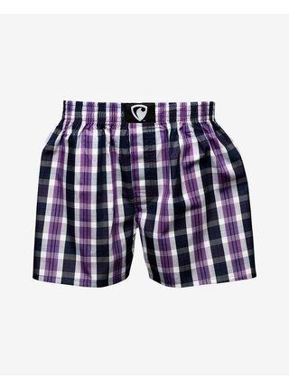 Trenírky pre mužov Represent - čierna, fialová