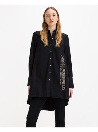 Rue St Guillaume Poplin Tunic Košile Karl Lagerfeld