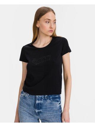 Tričká s krátkym rukávom pre ženy GAS - čierna