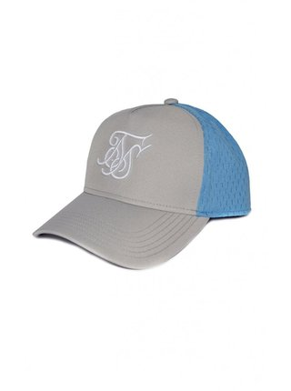 Světle modro-šedá kšiltovka Trucker Uniform SikSilk