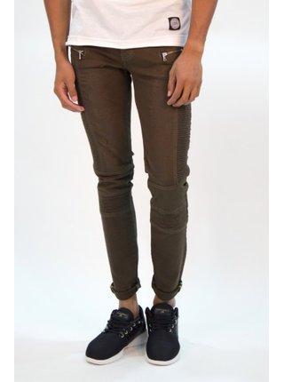 Khaki pánské skinny fit džíny June Sixth Jeans