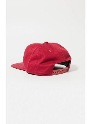 Červená kšiltovka BACK SNAP COTTON