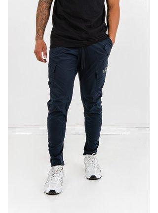 Tmavě modré pánské kalhoty POCKETS SLANT W/ PANTS CARGO