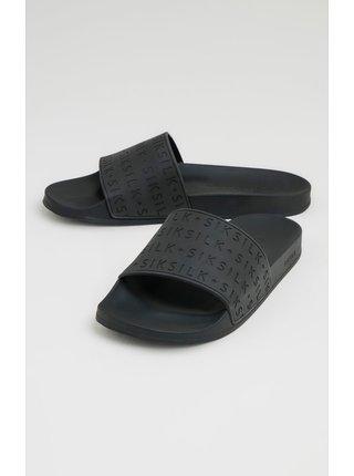 Černé pánské pantofle SLIDES SOLAR
