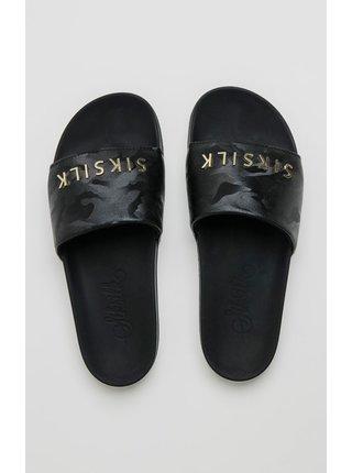 Černé pantofle SLIDES CAMO ALPHA