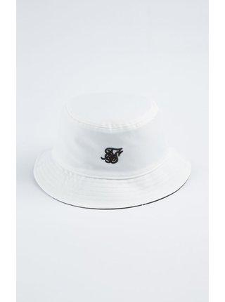 Bílý dámský klobouk HAT BUCKET AOP REVERSE