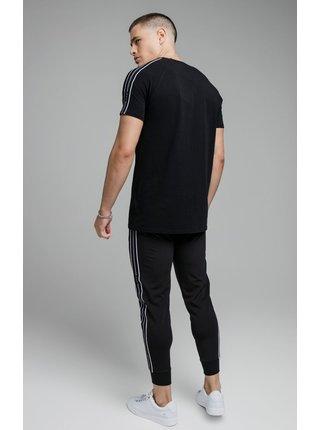 Černé pánské tričko  TEE GYM TAPE STATUS S/S