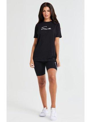 Černé dámské tričko TEE BOYFRIEND ESSENTIAL