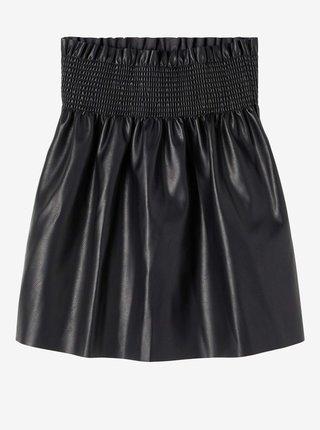Černá holčičí sukně s povrchovou úpravou name it Onea