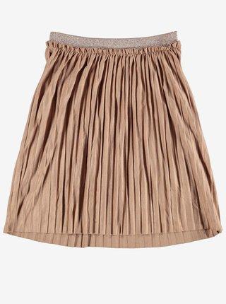 Starorůžová holčičí plisovaná sukně name it Omette