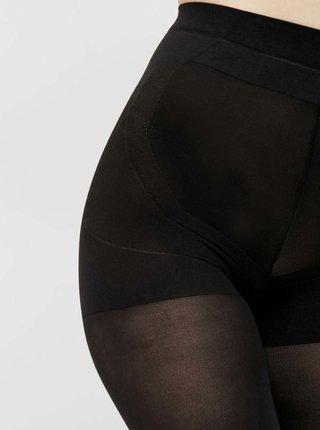 Černé punčochové kalhoty Pieces Shaper