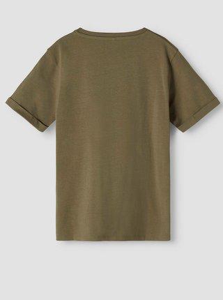 Khaki klučičí tričko s potiskem name it Nasa