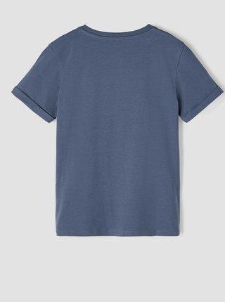 Modré klučičí tričko s potiskem name it Nasa