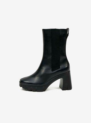 Černé dámské kožené boty Högl Discovery