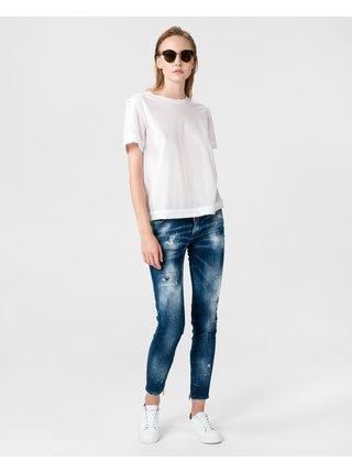 Skinny fit pre ženy DSQUARED2 - modrá