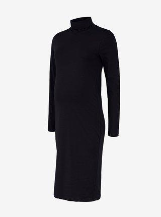 Černé těhotenské šaty Mama.licious Sia