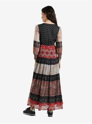 Voľnočasové šaty pre ženy Desigual - červená