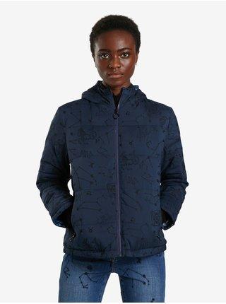 Zimné bundy pre ženy Desigual - modrá