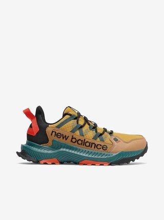 Zeleno-žluté pánské boty New Balance Shac