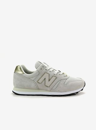 Světle šedé dámské semišové boty New Balance 373