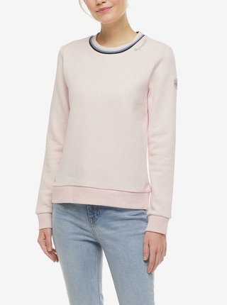 Světle růžová dámská mikina Ragwear Ermie