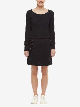 Černé dámské šaty Ragwear Penelope
