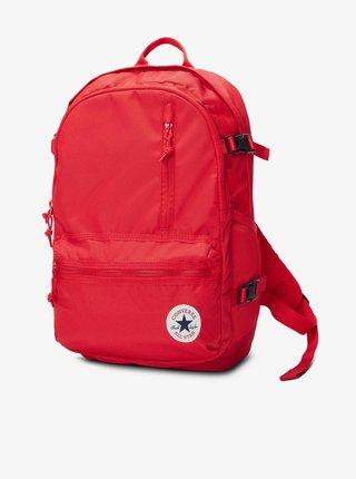 Červený unisex batoh Converse Straight Edge Backpack