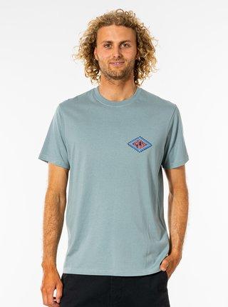 Svetlomodré pánske tričko s potlačou Rip Curl
