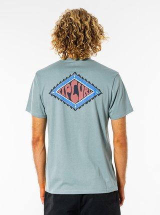 Světle modré pánské tričko s potiskem Rip Curl