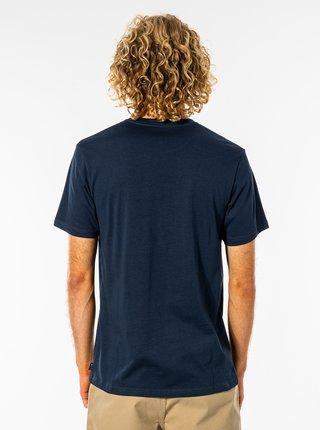 Tmavě modré pánské tričko s potiskem Rip Curl