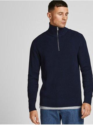 Tmavomodrý sveter Jack & Jones Perfect