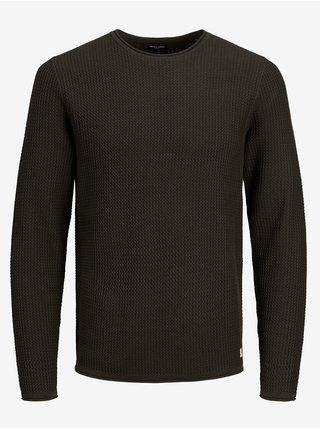 Tmavě šedý svetr Jack & Jones Carlos
