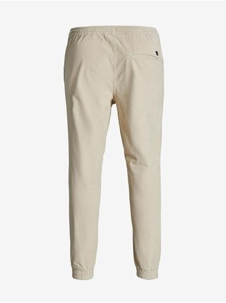 Krémové menčestrové nohavice Jack & Jones Gordon