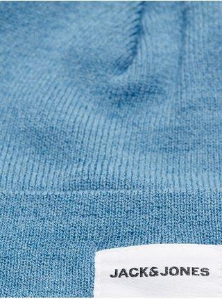 Modrá čiapka Jack & Jones Long