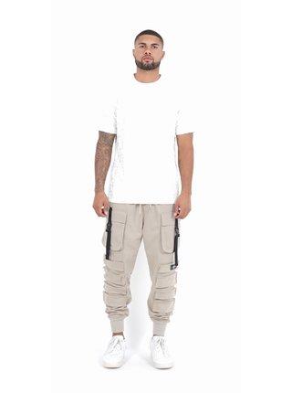 Béžové pánské kalhoty Beige PANTS POCKET JUNE SIXTH