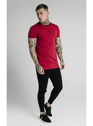 Červené pánské tričko TEE GYM HEM STRAIGHT
