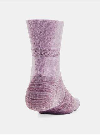 Ponožky Under Armour UA Essential Hi Lo 2Pk- růžová