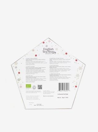 Biela vianočná darčeková kolekcia English Tea Shop