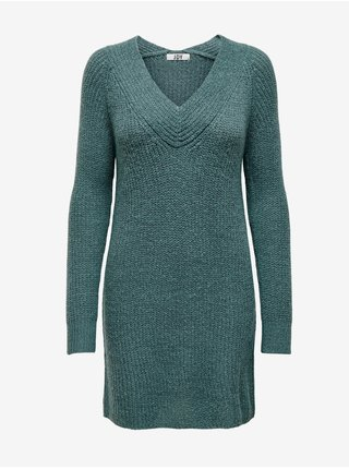 Tmavozelené svetrové šaty Jacqueline de Yong Wendy