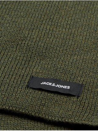 Kaki šál Jack & Jones Dna