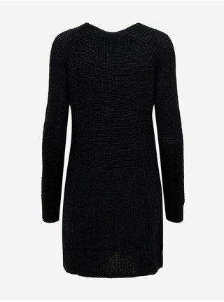 Černé svetrové šaty Jacqueline de Yong Wendy