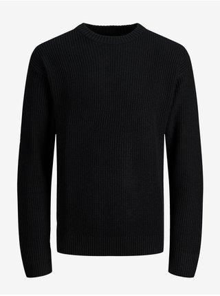 Čierny sveter Jack & Jones Brink