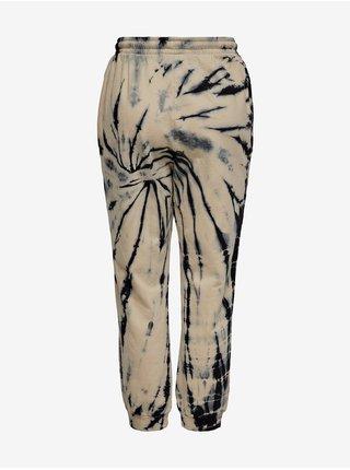 Černo-béžové vzorované tepláky ONLY Veneda